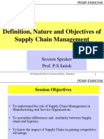 Definition Nature and Objectives of Supp
