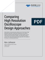 Comparing-high resolution-oscilloscope-design approaches