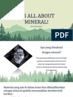 Kelompok 2 Presentasi Mineral