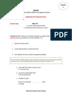 Ejemplo Lección Manual Del Dicípulo