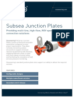 SDS Subsea Junction Plates A4