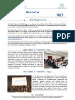 forget-me-not newsletter no 3 deutsch