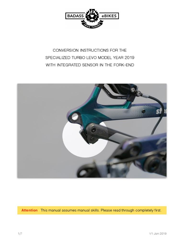 Ebike tuning badassBox 4 for SPECIALIZED-SET Turbo Levo 2019-20 FREE Express