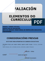 Presentación Curso Avaliación Programacións