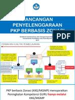 Panduan Pelaksanaan PKP Berbasis Zonasi