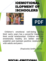 Socioemotional Development of Preschoolers