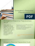 9. Emergency Response Preparedness