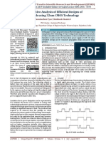 Comparative Analysis of Efficient Designs of D Latch using 32nm CMOS Technology