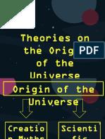 Origin of the Universe Part 2