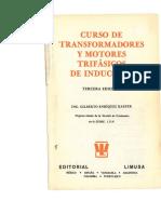 Curso de Transformadores y Motores Trifasicos de Induccion
