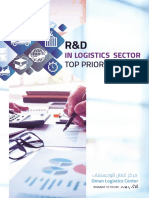 Oman Logistics Group - R&D Top Priority Areas of Innovation