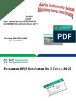Sosialisasi Per BPJSK No 3 Tahun 2015