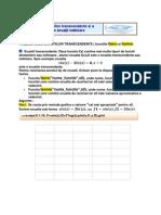 Rezolvarea ecuatiilor transcendente si sistemelor de ecuaţii neliniare