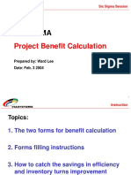 Benefit Calculation - Ward
