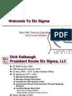Welcome to Six Sigma