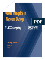 Sigrity Flextronics Power Integrity System Design Cp