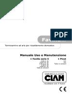 CLAM Uso e Manutenzione Favilla Serie5 e Pivot UFT260 210312