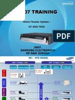 HT-X30 TX35 Training Manual