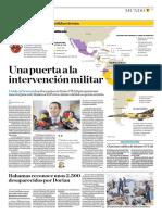 Una Puerta a La Intervención Militar