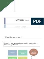 Asthma – Gina, 2017