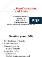 Bonds, Bond Valuation, Interest Rates_Session 7_8