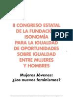Congreso Isonomía - Mujeres jóvenes