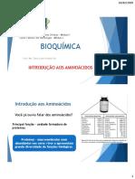 Aula Bioquímica Aminoacidos