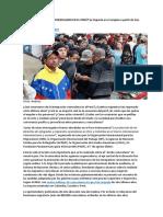 Qué Sucede Con Los Venezolanos en El Perú