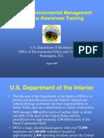 EMS Awareness Training