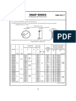 Snap Ring DIN 5417