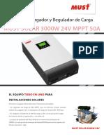 Ficha Inversor Must 3000w 24v Mppt50