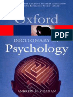 - Oxford Dictionary of Psychology, Colman, A.M. (2003) (1)