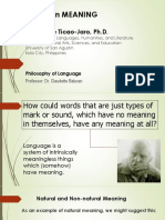 Grice's Philosophy