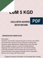 Lbm 5 Kgd Callista