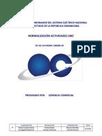 OC - GC-14-NASMC-180906-V0 - Normalización Actividades SMC - 2018