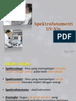 Spektrofotometri UV-Vis ADA