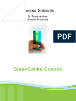 Green solvents pres