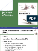 Non-tariff Barriers & Protection (R)