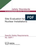 site evaluationnfor npp