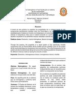 Equilibrio Heterogéneo en Fase Líquida Para Un Sistema Informe 13