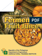 Fermented Fruit Juice