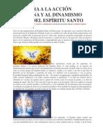Apertura a La Acción Soberana y Al Dinamismo Divino Del Espíritu Santo