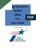 BGS User Manual