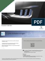 Livret de bord Peugeot 508 RXH 2014