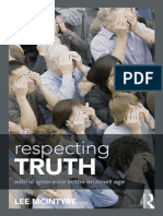 Lee McIntyre - Respecting Truth_ Willful Ignorance in the Internet Age-Routledge (2015)