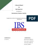 IBA-Report Sales Superstore