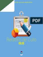 Relatorio Culto Online