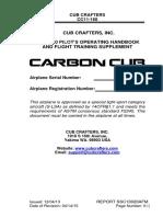 Carbon Cub POH