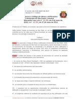 Lei Ordinaria - 16642 - 2017 - consolidada - [05-09-2019]