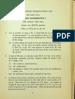 1957 AL Applied Mathematics Paper 1, 2